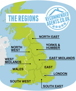 Estate Agent Regions UK